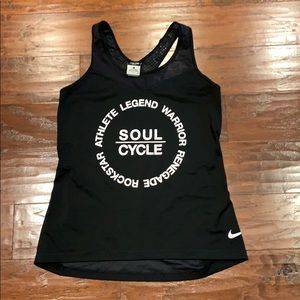 Soul cycle dry fit Nike mesh tank